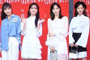 Kim Soo Hyun, Seohyun và Eun Jung (T-ara) hóa nữ thần trong 'Tuần lễ thời trang Hera Seoul' ngày 4
