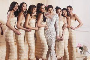 Dàn phù dâu xinh như mộng nổi bần bật gây sốt Instagram ở Thái Lan