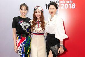 Trang Nhung, Ngân Khánh mặc sành điệu ra mắt phim 'Quý cô thừa kế'