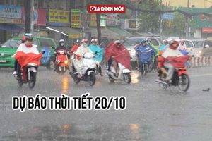 Dự báo thời tiết ngày 20/10: Hà Nội se lạnh, sáng sớm có mưa nhỏ vài nơi