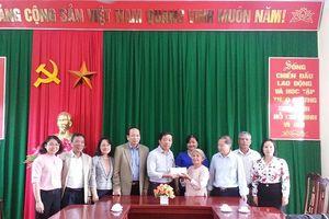 Đảng ủy Bộ LĐ-TB&XH: Hỗ trợ xây nhà tình nghĩa cho gia đình NCC tại Tuyên Quang