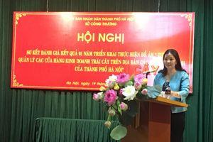 Hà Nội thí điểm quản lý cửa hàng trái cây: Nâng cao nhận thức người dân về trái cây an toàn