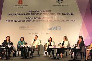 Bảo vệ lao động nữ: Nhiều quy định lợi bất cập hại