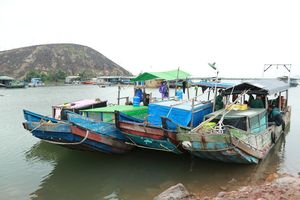 Bắt liên tiếp 4 tàu khai thác thủy sản trái phép