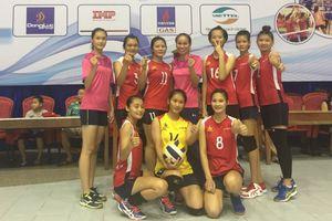 Nữ Kingphar Quảng Ninh xếp thứ 6 tại Giải bóng chuyền các CLB trẻ toàn quốc