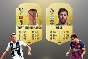 Ronaldo, Messi và đội hình 'siêu sao 8X' trong FIFA 19