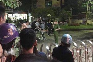Hiện trường vụ bắn và chém nhau gây náo loạn khu phố ở Thanh Hóa