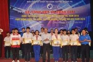 Trao giải cuộc thi 'Sáng tạo trẻ Quảng Trị' lần thứ VII - 2018