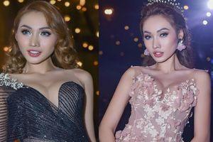 Giải đồng Siêu mẫu Việt Nam khoe vóc dáng với đầm xuyên thấu