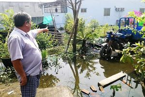 Dự án Trị Yên Riverside lấp đường sông, bịt lối thoát nước khiến dân điêu đứng