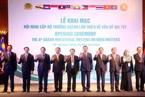 Cam kết xây dựng 'Cộng đồng ASEAN không ma túy'