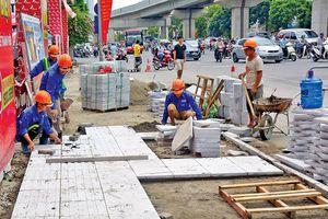 Tăng cường quản lý chất lượng dự án thi công lát hè của Hà Nội