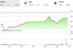 Phiên chiều 19/10: Cầu yếu, VN-Index không thể hồi phục
