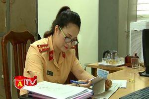 Nữ Cảnh sát giao thông ấn tượng vì những sáng kiến vì nhân dân