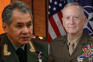 Bộ trưởng Quốc phòng Nga - Mỹ lần đầu gặp nhau ở Singapore