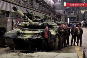 Nga công bố hình ảnh xe tăng T-90 lắp ráp cho Việt Nam đã hoàn thiện