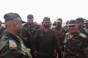 Tư lệnh lực lượng 'Hổ Syria' tới mặt trận đông Idlib