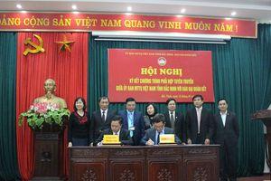 MTTQ tỉnh Bắc Ninh phối hợp với báo Đại Đoàn Kết tuyên truyền về Đại hội