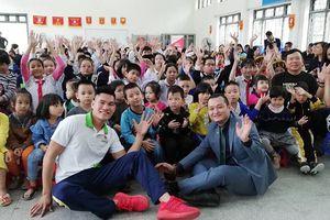 500 học sinh trường THCS Xã Đàn được hỗ trợ dinh dưỡng