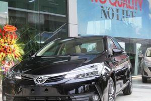 Giá lăn bánh Toyota Corolla Altis 2018 tại Việt Nam