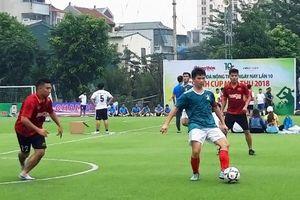 Khởi tranh Giải bóng đá Báo Nông thôn ngày nay lần thứ 10