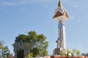Khánh thành Đài Hữu nghị Việt Nam - Campuchia tại Kep