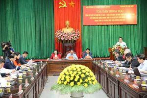Hà Nội: Nhìn lại 30 năm thực hiện Cương lĩnh xây dựng đất nước trong thời kỳ quá độ lên chủ nghĩa xã hội
