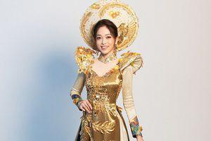 Phương Nga xuất sắc lọt Top 5 trang phục dân tộc tại Miss Grand
