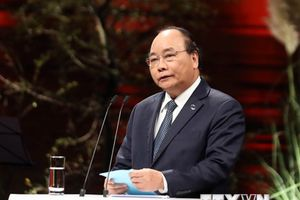 Hình ảnh Thủ tướng tại Phiên khai mạc Hội nghị thượng đỉnh P4G