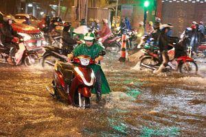 Mưa dông kết hợp triều cường, Nam Bộ có nguy bị ngập sâu