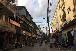 Hà Nội đã giao 19 nhà đầu tư lập quy hoạch chi tiết cải tạo chung cư cũ