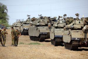 Israel triển khai số lượng xe tăng, bọc thép chưa từng có tới Gaza