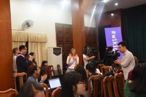 Chung tay cải thiện bình đẳng giới trên môi trường mạng