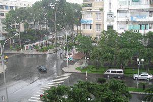 Vùng áp thấp gây mưa lớn cho các tỉnh Nam Trung Bộ và Nam Bộ