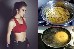 Đầu tuần trước mới 55kg, cuối tuần sau còn 50kg với công thức từ quả bưởi luộc