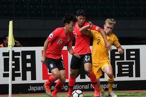 Hàn Quốc hòa Australia, U19 Jordan tạm dẫn đầu bảng C