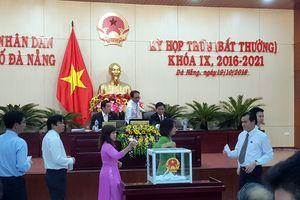 Đà Nẵng kiện toàn nhân sự chủ chốt HĐND, UBND