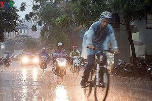 Thời tiết hôm nay 20/10: Các vùng trên cả nước có mưa