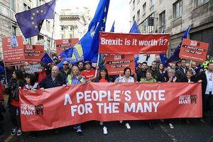 Tuần hành quy mô lớn ở Anh về thỏa thuận Brexit