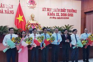 Đà Nẵng bầu, bổ nhiệm một loạt chức danh chủ chốt