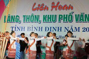 Bình Định: Liên hoan làng, thôn, khu phố văn hóa năm 2018