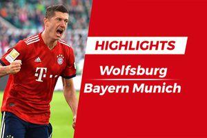 Lewandowski tỏa sáng, Bayern đánh bại Wolfsburg