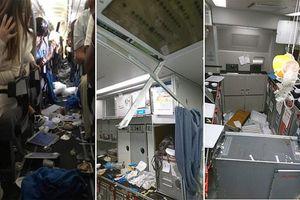 Hành khách bị thương, la ó vì máy bay nhiễu loạn không khí