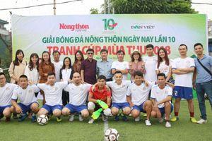 Sôi động giải bóng đá Nông thôn ngày nay lần 10