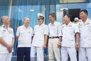 Họp mặt kỷ niệm 57 năm ngày mở đường Hồ Chí Minh trên biển