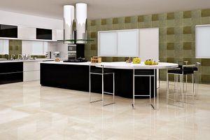 Chọn vật liệu lý tưởng nào để ốp sàn bếp?