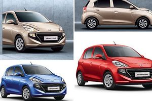 Xe siêu rẻ Hyundai Santro hơn 100 triệu, rẻ hơn cả Grand i10