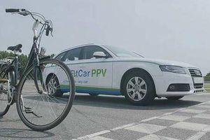 Xe sang Audi chế thêm bàn đạp tập thể dục độc đáo