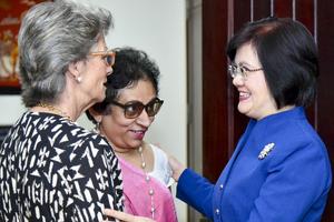 Nữ Đại sứ các nước đánh giá cao Việt Nam có riêng ngày của Phụ nữ