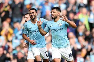 Thắng '5 sao' Man.City đòi lại ngôi đầu Ngoại hạng Anh